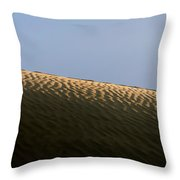 We Build Up Castles In The Sky And In The Sand. Throw Pillow