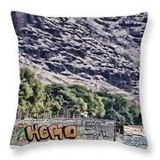 We Don't Need Another Hero Throw Pillow