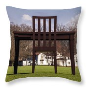 We Don't Need No Education Throw Pillow