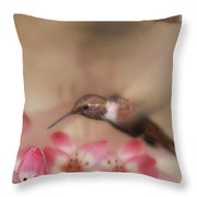 We Love Those Lilies Throw Pillow