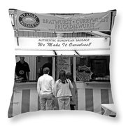 We Make It Ourselves Throw Pillow