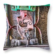 We Must Hang Together Throw Pillow