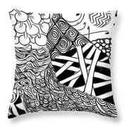 We Sailed The Seas Together Throw Pillow