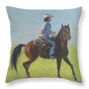 We Save Horses Three Throw Pillow