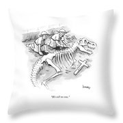 We Tell No One Throw Pillow