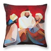 We Three Kings Throw Pillow