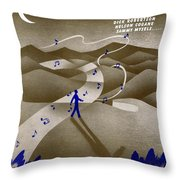 We Three Throw Pillow