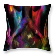 We Two Are One Oil Throw Pillow