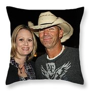 We Went Out Last Night Throw Pillow