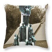 We Will Never Fall Throw Pillow