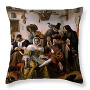wealth Is Looking-1663 Throw Pillow