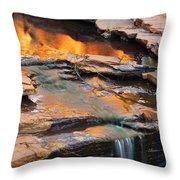Weano Gorge - Karijini Np 2am-111671 Throw Pillow