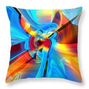 Weather Or Knot H 4  Throw Pillow