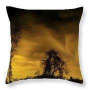 Weather Warning Throw Pillow