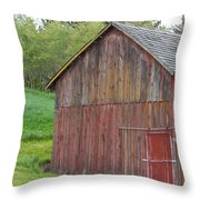 Weathered Barn Throw Pillow