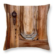 Weathered Entrance Throw Pillow