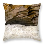 Weathering Of The Stone Throw Pillow