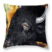 Weathering Storm Throw Pillow