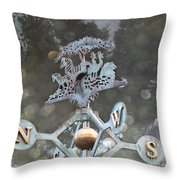 Weathervane Throw Pillow