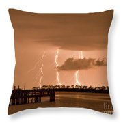 Weaver Park Lightning Throw Pillow