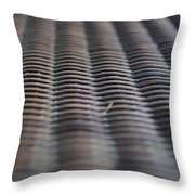 Weaving In And Under Throw Pillow