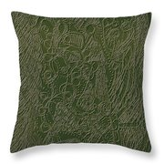 Weaving The World Throw Pillow