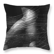 Web Of Legs Throw Pillow