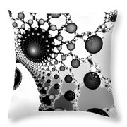 Web Of Worlds Throw Pillow