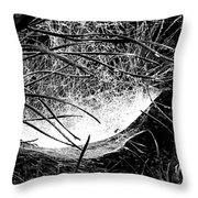 web1BW Throw Pillow