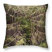 Web2dark Throw Pillow