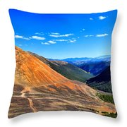 Webster Pass Colorado Throw Pillow