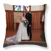 Wedded Throw Pillow