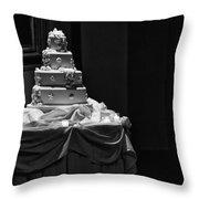 Wedding Cake Throw Pillow