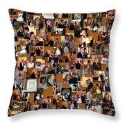 Wedding Collage Throw Pillow