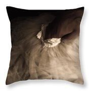 Wedding Jitters Throw Pillow