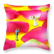 Wedding Photography Little People Big Worlds Throw Pillow