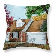 Wedding Present Throw Pillow