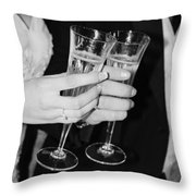 Wedding Toast Throw Pillow