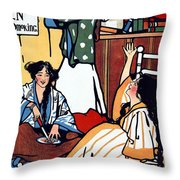 Wee Sma Hours 1909 Throw Pillow