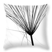 Weed By The Lake Throw Pillow