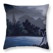 Weeping Angle Throw Pillow