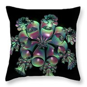 Weeping Bells Throw Pillow