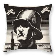 Wehrmacht Throw Pillow