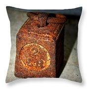 Weighing It Up Throw Pillow