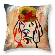 Weimaraner Collection Throw Pillow