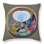 Weird Orb II Throw Pillow