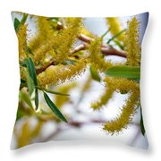 Weird Plant Throw Pillow