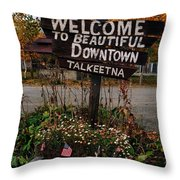 Welcome ... Throw Pillow