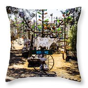 Welcome 2 Throw Pillow