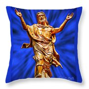 Welcome 5 Throw Pillow